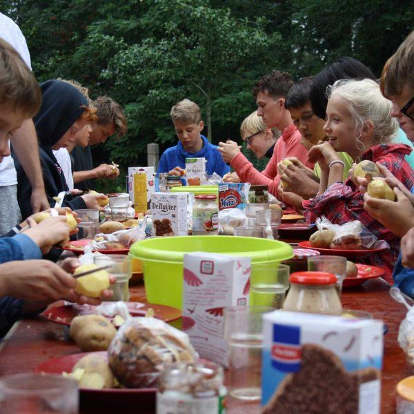 Kamp-maaltijd